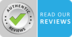 Read our reviews Badge